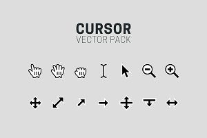 Cursor Vector Icons - Full Pack