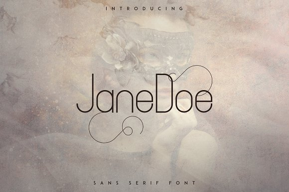 JaneDoe Sans Serif Font