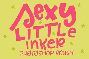 Sexy Little Inker Photoshop Brush