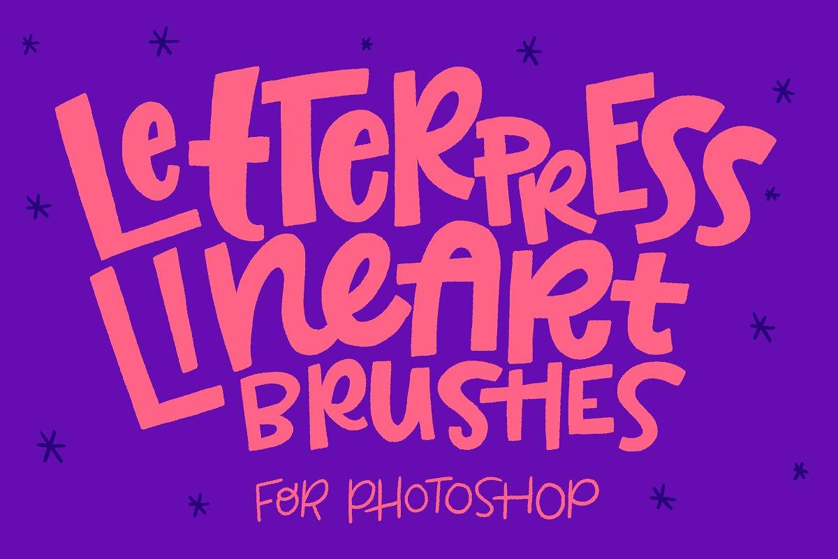 Photoshop Lineart Brush