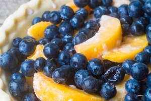 Blueberry Peach Pie