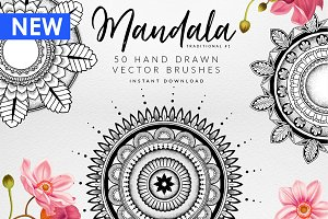Mandala Illustrator Brushes