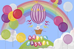 Easter Bunny Hot Air Balloon Ride