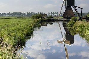 The Wingerdse mill near Bleskensgraa