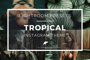 Tropical Lightroom Presets Instagram
