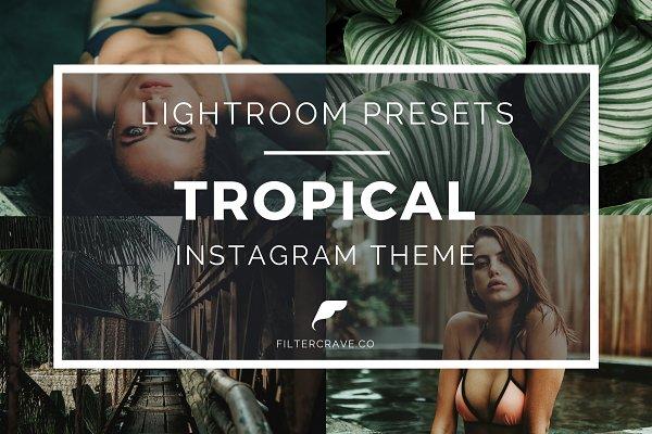 Tropical Lightroom Presets Instagra…