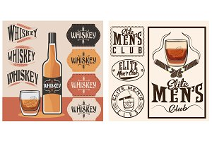 """Whiskey"" labels"