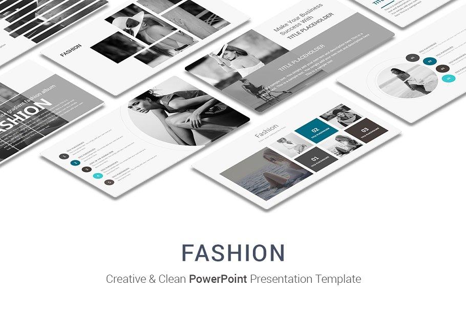Fashion PowerPoint Presentation Temp ~ PowerPoint Templates