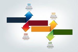 Arrows   infographic, chart, scheme