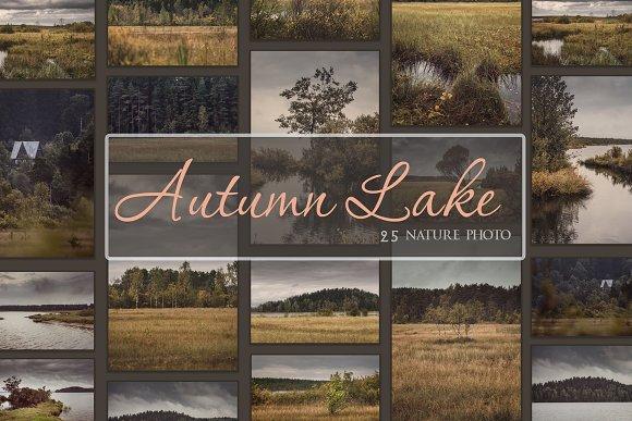 Autumn Lake Nature Photo