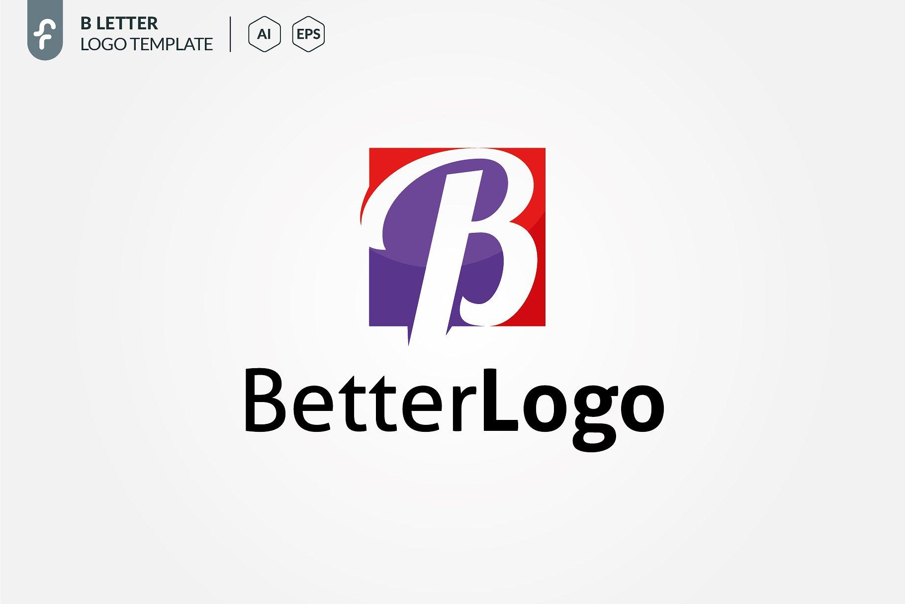 B letter logo logo templates creative market pro accmission Images