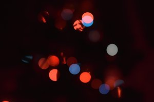 Abstract bokeh dark background