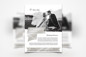 Wedding Dresses Flyer