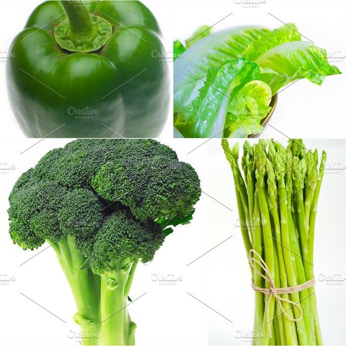 green food collage 25.jpg - Food & Drink