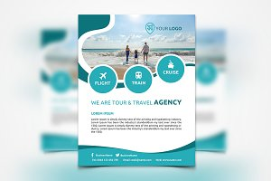 Travel Agency Flyer #064