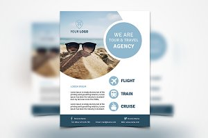 Travel Agency Flyer #063