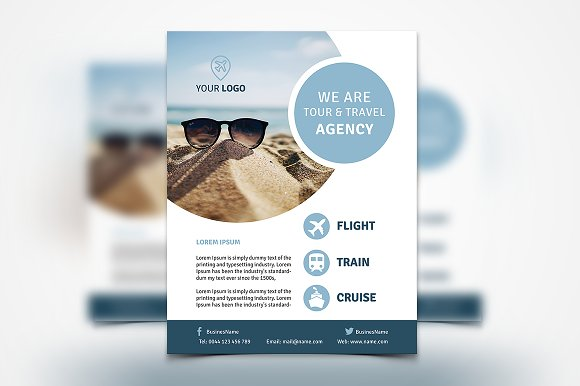 Travel Agency Flyer #134