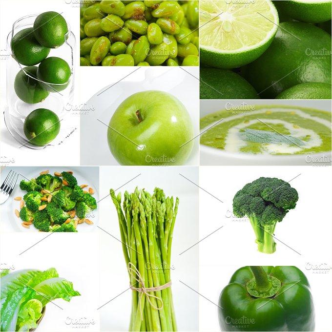 green food collage 4.jpg - Food & Drink