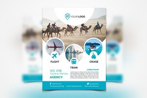 Travel Agency Flyer #061