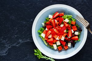 Sweet refreshing summer salad