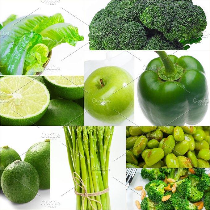 green food collage 13.jpg - Food & Drink