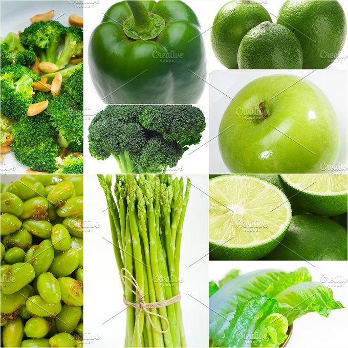 green food collage 14.jpg - Food & Drink