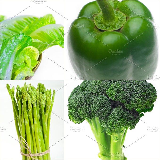 green food collage 21.jpg - Food & Drink