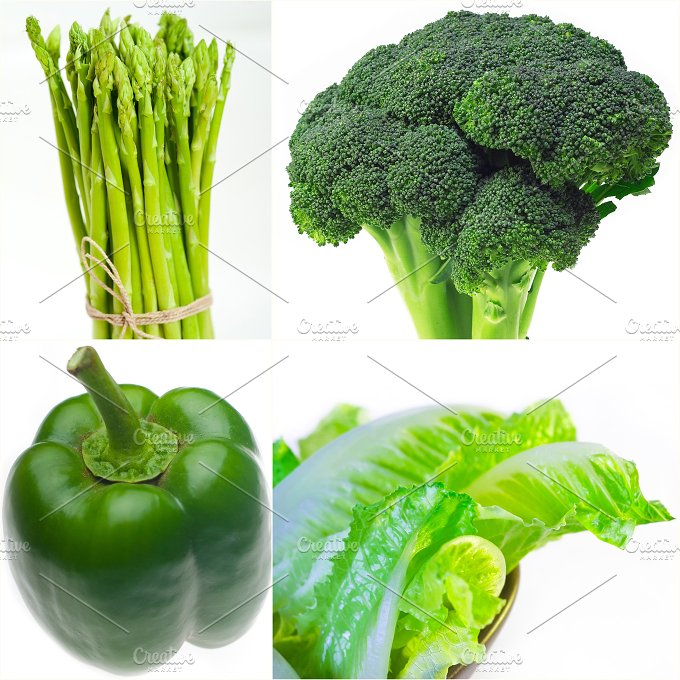 green food collage 22.jpg - Food & Drink