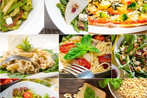 healthy Italian vegetarian food  collage 1.jpg