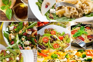 healthy Italian vegetarian food  collage 2.jpg