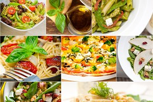 healthy Italian vegetarian food  collage 3.jpg