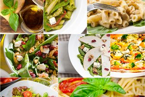 healthy Italian vegetarian food  collage 5.jpg