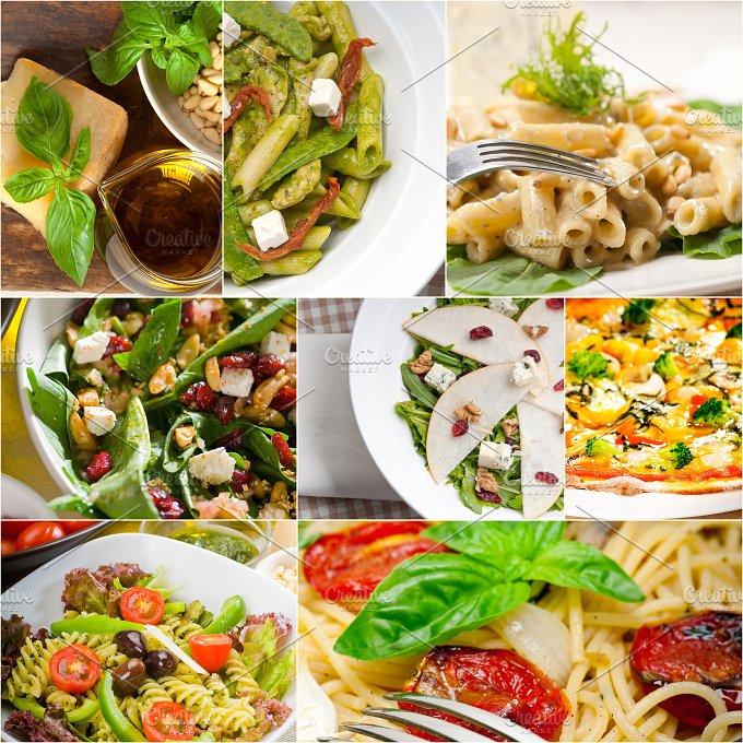 healthy Italian vegetarian food collage 5.jpg - Food & Drink