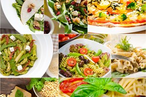 healthy Italian vegetarian food  collage 6.jpg