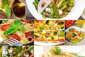 healthy Italian vegetarian food  collage 8.jpg