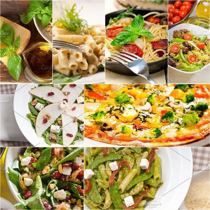 healthy Italian vegetarian food collage 15.jpg - Food & Drink