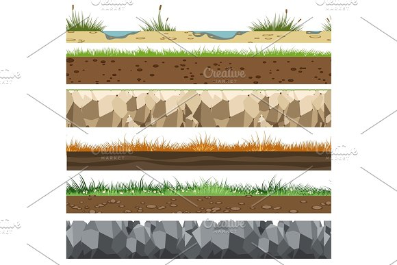 Soil Horizontal Patterns