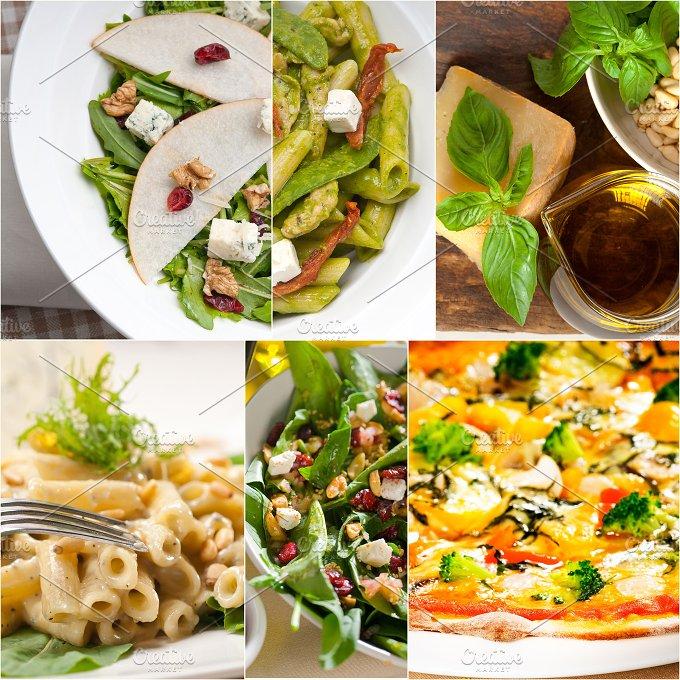 healthy Italian vegetarian food collage 24.jpg - Food & Drink