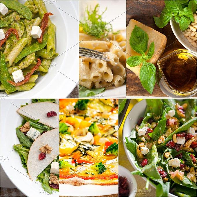 healthy Italian vegetarian food collage 25.jpg - Food & Drink