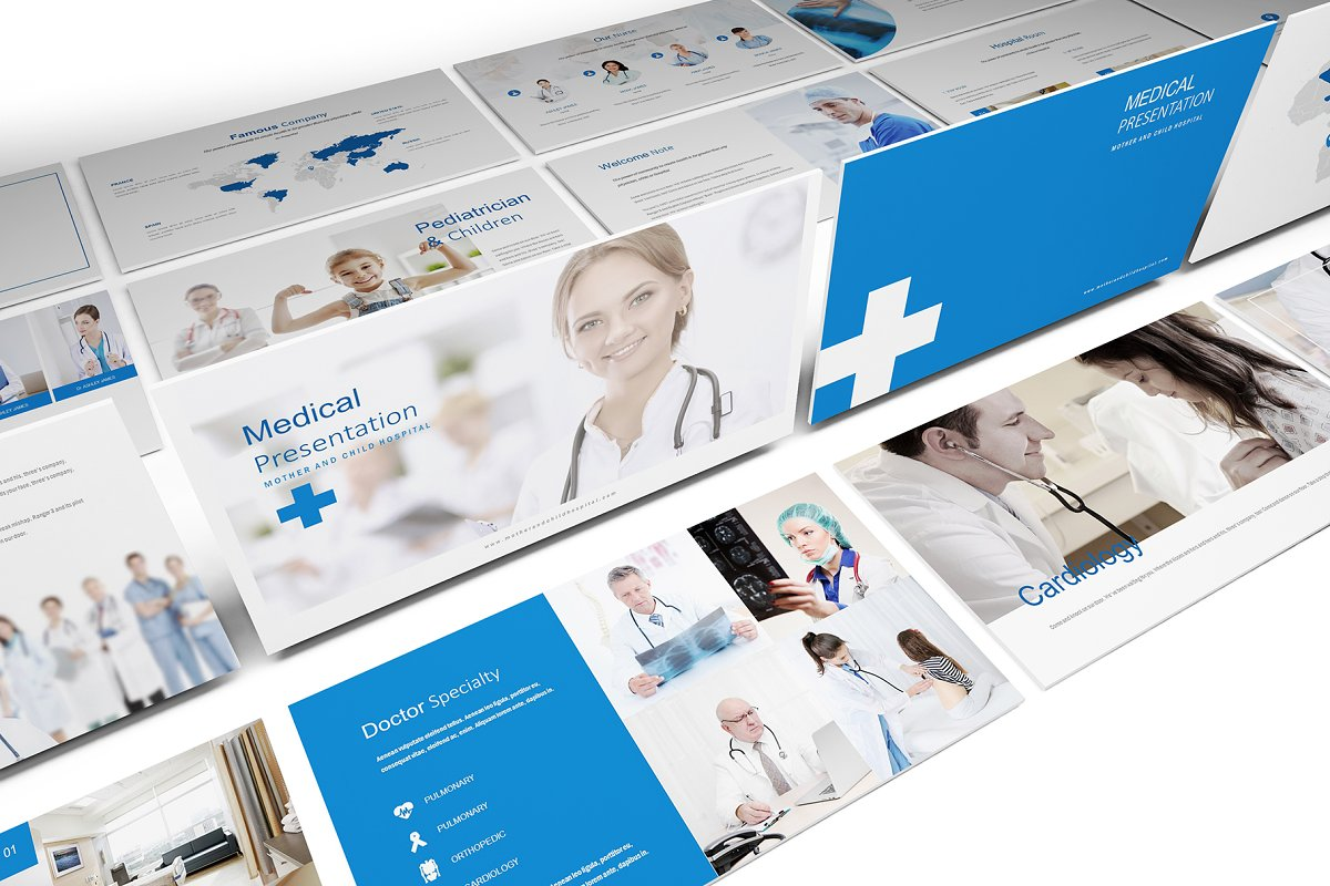 Medical And Hospital Powerpoint Powerpoint Templates