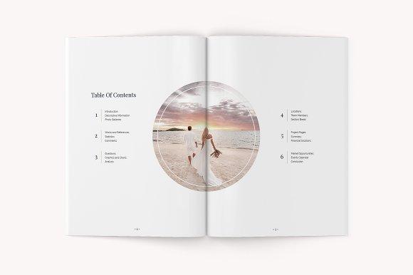 Cara Proposal Template Brochure Templates Creative Market
