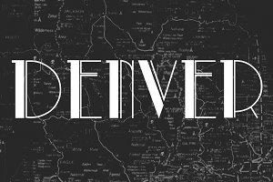 Denver, a slab serif