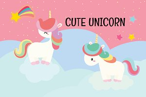 Cute Unicorn Set.