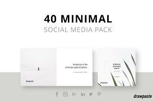 Minimal Social Media Pack 2018