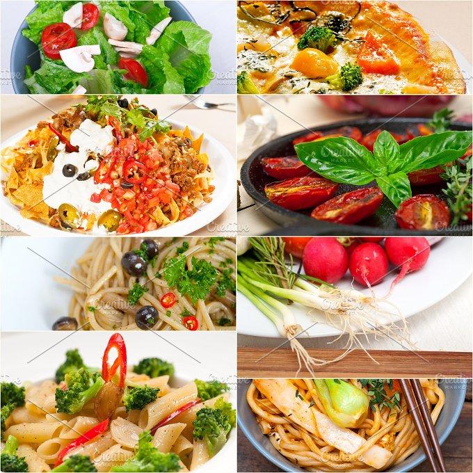 healthy vegetarian food collage 16.jpg - Food & Drink