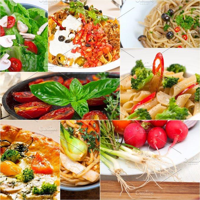 healthy vegetarian food collage 20.jpg - Food & Drink