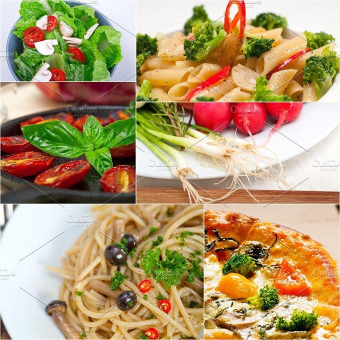 healthy vegetarian food collage 24.jpg - Food & Drink