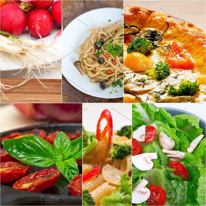 healthy vegetarian food collage 30.jpg - Food & Drink