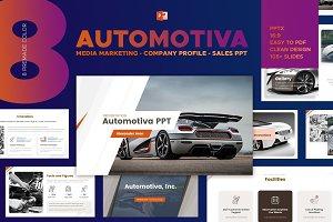 Automotive Presentation Template