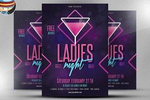 Ladies Night Flyer Template v2